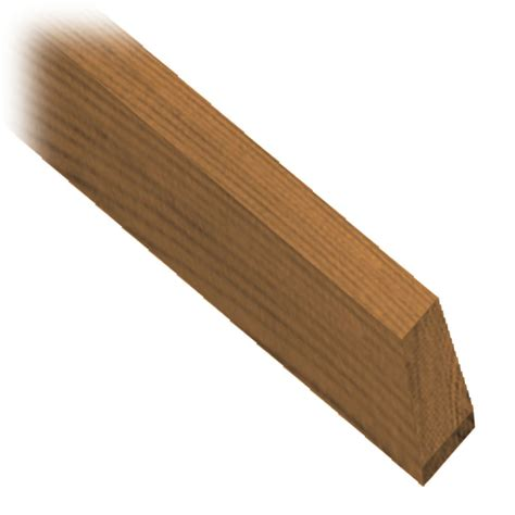 home depot wood micropro sienna 48 quot treated wood railing baluster the home depot canada