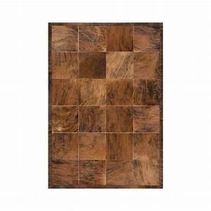 tapis peau de vache marron feel ligne pure 205x285 With tapis peau de vache avec canapé xxl convertible