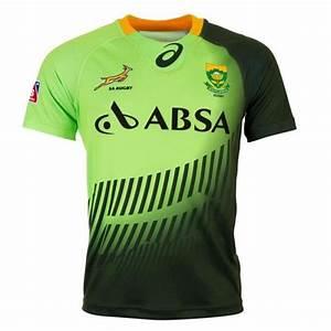 Maillot Rugby A 7 : un regard lumineux b n ficiant de l 39 une des meilleures nations l 39 afrique du sud springboks 7s ~ Melissatoandfro.com Idées de Décoration
