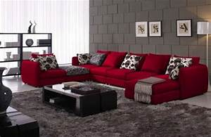 red sofa decorating ideas home design With red sectional sofa decorating ideas