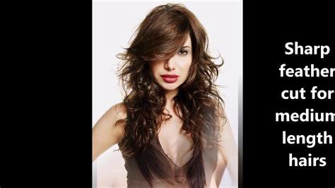 Feather Cut Hairstyles For Medium Hrais|| Haircuts Name