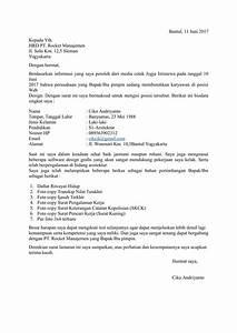 Contoh Surat Lamaran Kerja Waiter Dalam Bahasa Inggris