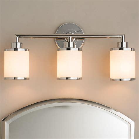 Contemporary Urban Bath Vanity Light  3 Light  Shades Of