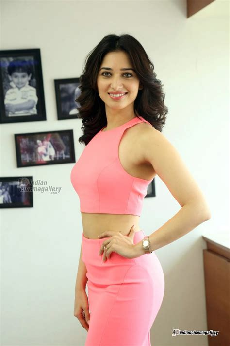 Tamanna Bhatia In Pink Dress March 2016 Pics 236218
