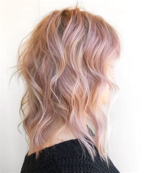 top  rose gold hair color ideas trending