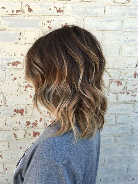 Balayage Brown Hair Brown Balayage Hair Short Hair