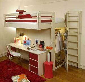 Lit Mezzanine Enfant : un lit mezzanine pour votre enfant ~ Teatrodelosmanantiales.com Idées de Décoration