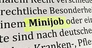 450 Euro Job Urlaubsanspruch Berechnen : ratgeber minijobs 450 euro jobs als besch ftigungsform ~ Themetempest.com Abrechnung
