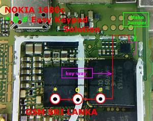 Mobile Diagram With Repairing Hardware  Nokia 1680c Easy