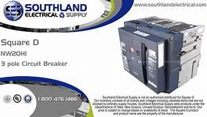 Square D Nw20h1  2000 Amp  600 Volt  3 Pole Circuit