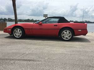 1990 Corvette Convertible 6 Speed Very Low Miles Mint