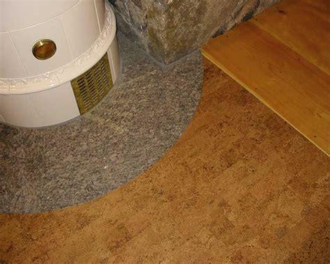 cork flooring install cork flooring installation photos private residence jackson nh durodesign