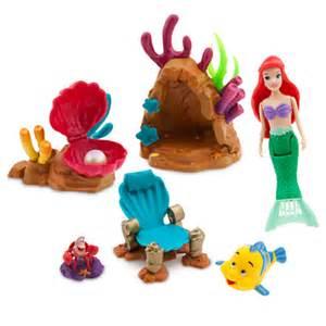 disney the little mermaid swimming ariel playset magic