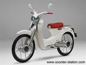 Scooter Electrique 2018 : honda d voile ses scooters lectriques motostation ~ Medecine-chirurgie-esthetiques.com Avis de Voitures
