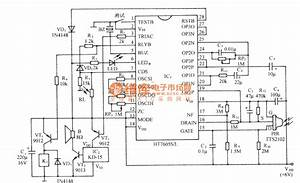The Infrared Sensor Security Device Circuit