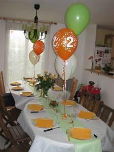 Orange Et Vert Dunkerque : vert anis et orange photo de d coration de table maman ~ Dailycaller-alerts.com Idées de Décoration