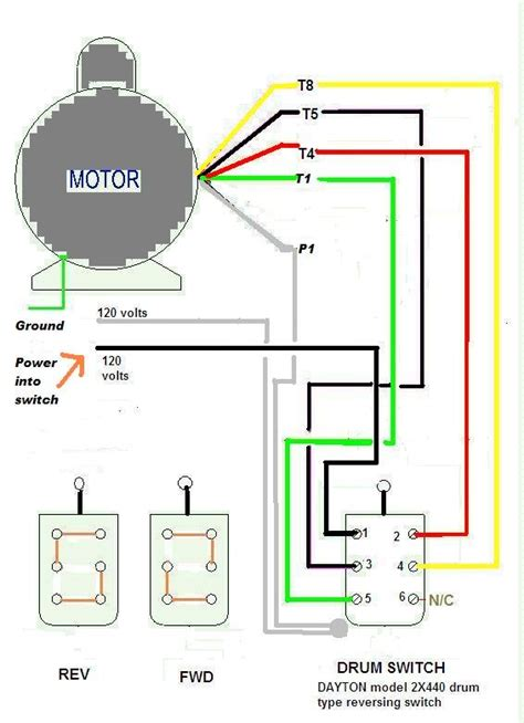 Schematic Of 3 4 Hp Motor Wiring by Emerson Electric Motor Wiring Diagram Impremedia Net