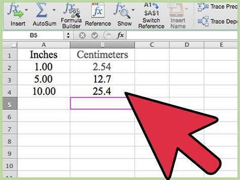 ways  convert measurements easily  microsoft excel