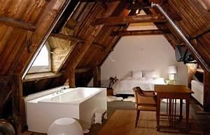 chambre sous comble une histoire d39amour en plusieurs With salle de bain design avec peinture toiture
