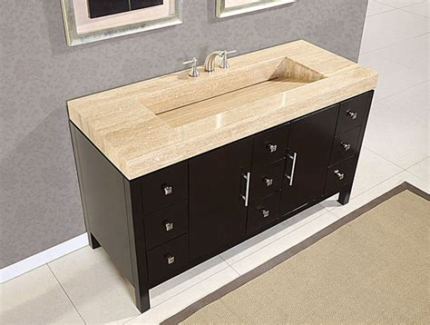 60 inch double sink vanity top 60 inch modern travertine stone top integrated sink