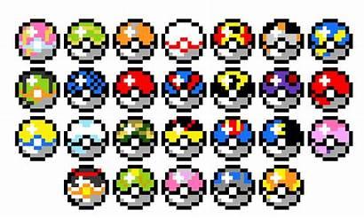 Pixel Ball Pokeballs Maker