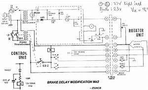 Rotator Brake Delay Modification