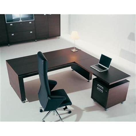 bureau de direction design bureau direction bois plano avec retour mobilier de bureau