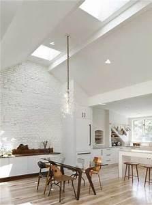 8 idees deco pour egayer une cuisine blanche With idee deco cuisine avec salle a manger contemporaine blanche