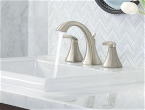 Moen Voss Faucet T6905 by Moen T6905 Voss Two Handle High Arc Bathroom Faucet