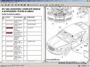 Bentley Continental Gt Catalogue Of Spare Parts