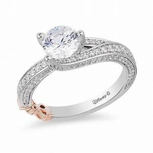 Limited edition enchanted disney snow white 1 1 2 ct tw for Snow white wedding ring