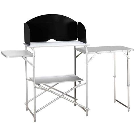 meuble table cuisine mobilier cing meuble de cuisine cing et table aluminium highlander