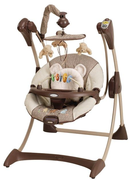 graco silhouette infant baby swing classic pooh ebay