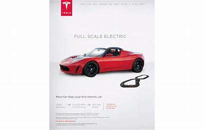 Tesla Ad Advertising Cars Ads Campaign Advertisement