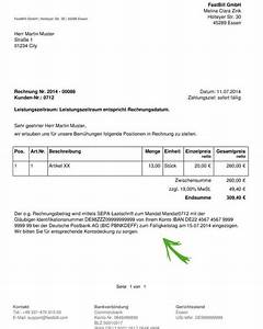 In Welchem Zeitraum Muss Eine Rechnung Gestellt Werden : sepa kommt jetzt mit fastbill umstellen ~ Themetempest.com Abrechnung