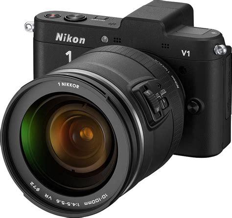 Nikon V1 by Nikon Announces Nikon 1 System With Cx Format J1 And V1