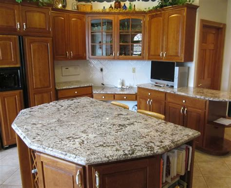 the many looks of granite kitchen countertops