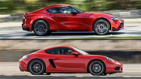 2020 Porsche Cayman by Auto Showdown 2020 Toyota Supra Vs 2019 Porsche 718