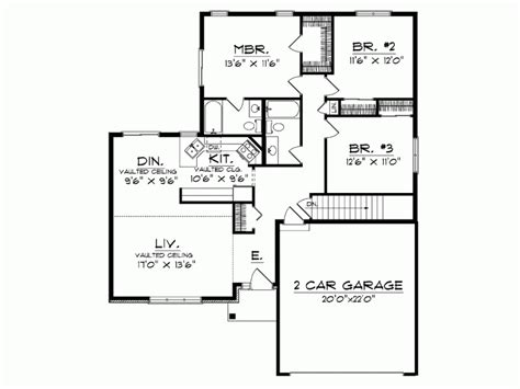 small one house plans modern one house floor plans luxury home house