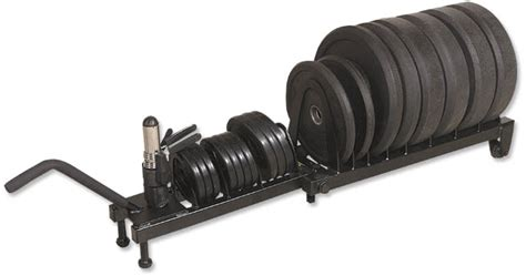 magnum fitness pro  weight series horizontal plate rack full commercial