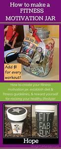 How To Make A Fitness Motivation Jar As A Fun Reward