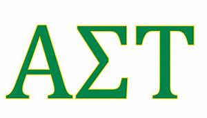 panhellenic council student engagement and leadership With alpha sigma tau letters