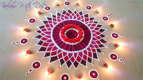 Beautiful Festival Celebration Rangoli Designs with