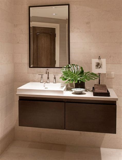 Floating Bathroom Sink by How To Take Advantage Of Floating Vanities To Make