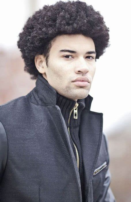 awesome afro hairstyles  men    trend spotter