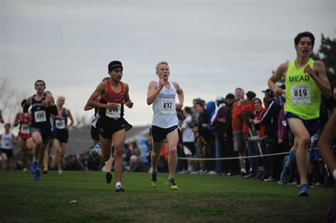 boys cross country place state camas high school