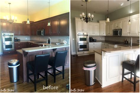 Chalk Paint Ideas Kitchen - amusing 30 painted cabinet inspiration design of remodelaholic diy refinished and painted