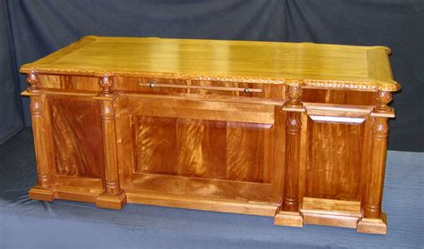 hand carved executive desk custom solid wood hand carved executive desks usa made