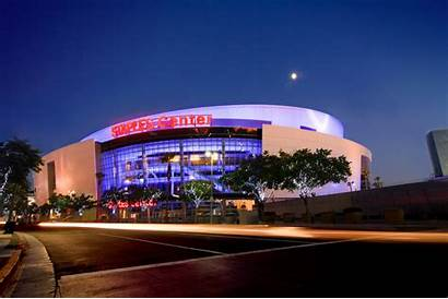 Staples Center Angeles Los Upgrades Downtown Lakers