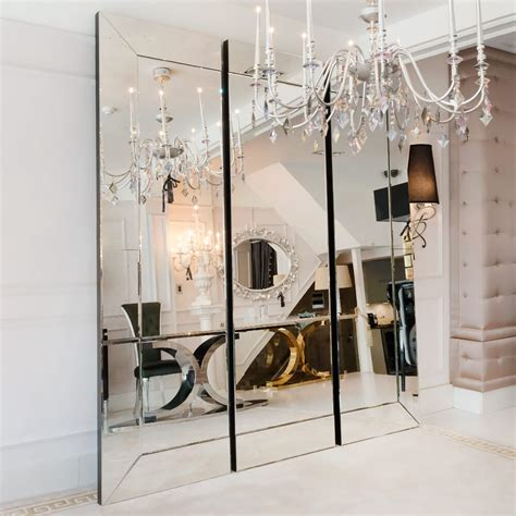 large venetian style sectional mirror